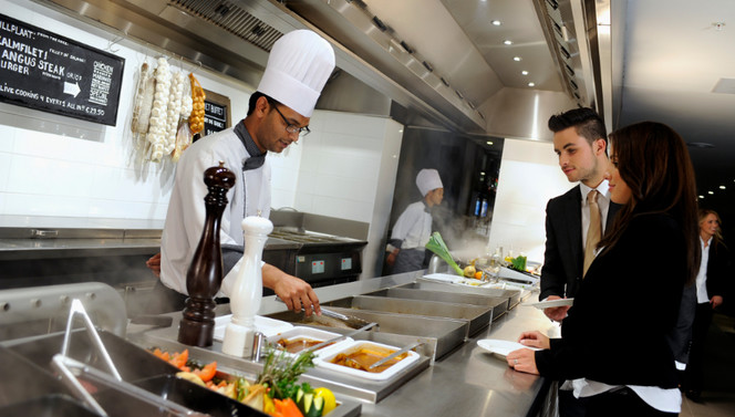 Live Cooking restaurant Het Buffet