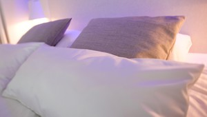 Bed Penthouse Suite Ivory Hotel Eindhoven
